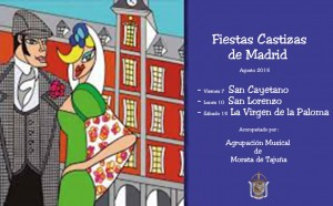 Cartel Fiestas de Madrid